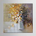 ieftine Picturi în Ulei-Hang-pictate pictură în ulei Pictat manual - Abstract / Floral / Botanic Modern pânză