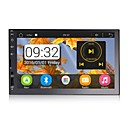 olcso Autós DVD lejátszók-RUNGRACE RL-285AGN18 7 hüvelyk 2 Din Android6.0 Bluetooth / Kormánytávkapcsoló / Wifi mert Univerzalno Audió / Microfon / GPS Támogatás MPEG / WMV / RM JPEG / PNG / JPG