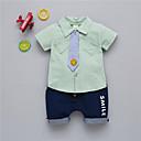 ieftine Set Îmbrăcăminte Băieți Bebeluși-Bebelus Unisex Mată Manșon scurt Set Îmbrăcăminte