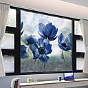 preiswerte Wand-Sticker-Fenster Film & Aufkleber Dekoration Matt / Moderne Blume PVC Fenster-Aufkleber / Matt