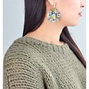 זול סטים של תכשיטים-בגדי ריקוד נשים מוצלב על הגוף עגילי טיפה - פרח בסיסי, אופנתי קשת / אדום / ירוק עבור יומי פגישה (דייט)