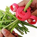 abordables Utensilios de cocina-Herramientas de cocina Acero Inoxidable Manual / Múltiples Funciones Cortadores Para utensilios de cocina / Frijol 1pc