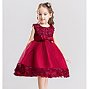 cheap Mascaras-Kids Girls' Sweet Solid Colored Sleeveless Dress