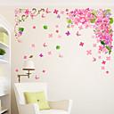 رخيصةأون ملصقات الحائط-لواصق حائط مزخرفة - لواصق حائط الطائرة الأزهار / النباتية غرفة الجلوس / غرفة النوم / دورة المياه