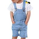 ieftine Pantaloni Băieți-Bebelus Băieți De Bază Mată In Blugi Albastru Deschis / Copil