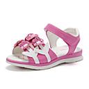 povoljno Cipele za djevojčice-Djevojčice Cipele PU Ljeto Udobne cipele / Obuća za male djeveruše Sandale Hodanje Cvijet za Djeca Obala / Watermelon / Pink