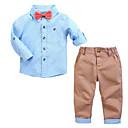 ieftine Set Îmbrăcăminte Băieți Bebeluși-Bebelus Băieți Geometric Manșon Lung Set Îmbrăcăminte