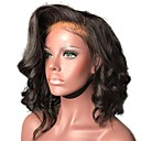 cheap Human Hair Wigs-Synthetic Wig / Synthetic Lace Front Wig Women's Curly Black Layered Haircut Synthetic Hair with Baby Hair / Soft / Heat Resistant Black / Dark Brown Wig Short Lace Front Natural Black Dark Brown