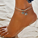 cheap Fidget Spinners-Anklet - Leather Elephant Double Layered Silver For Going out Bikini Women's