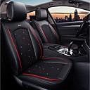 זול כיסויי למושבים לרכב-ODEER כריות למושבי הרכב כיסויים שחור טֶקסטִיל נפוץ for אוניברסלי כל השנים כל הדגמים