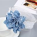 preiswerte Kinder Kopfbedeckungen-Baby Mädchen Süß Alltag Glatt Geblühmter Style Kunstseide Haarzubehör Blau Einheitsgröße / Stirnbänder
