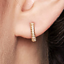 cheap Earrings-Women's Hoop Earrings - 18K Gold Plated, S925 Sterling Silver Dainty, Simple, Fashion Gold For Daily / Formal