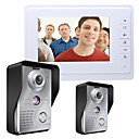 cheap Video Door Phone Systems-MOUNTAINONE SY819MKW21 7 Inch Video Door Phone 7 inch Hands-free 700 TV Line One to One video doorphone