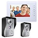 ieftine Sistem De Ușă Telefon Video-MOUNTAINONE SY819MKW21 7 Inch Video Door Phone 7 inch Mâini-libere 700 TV Line Interfon video 1 la 1