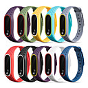 cheap Smartwatch Bands-Watch Band for Mi Band 2 Xiaomi Sport Band Silicone Wrist Strap