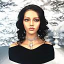 ieftine Peruci Păr Uman-Păr Remy Față din Dantelă Perucă Păr Brazilian Ondulat Stil Ondulat Perucă Partea centrală 130% Densitatea părului cu păr de păr Linia naturală de păr Noduri albite Pentru femei Mediu Peruci Păr Uman