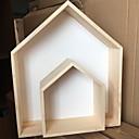 ieftine Obiecte decorative-2pcs Lemn stil minimalist pentru Pagina de decorare, Decoratiuni interioare Cadouri