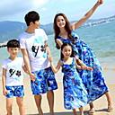 ieftine Set Îmbrăcăminte De Familie-Familie Uite Geometric Manșon scurt Set Îmbrăcăminte
