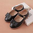 ieftine Pantofi Fetițe-Fete Pantofi Piele Primăvara & toamnă Confortabili Pantofi Flați Funde pentru Copii Negru / Rosu / Roz