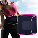 cheap Fitness Gear & Accessories-Sweat Waist Trimmer / Sauna Belt With 1 pcs Rubber Adjustable, Stretchy Weight Loss, Tummy Fat Burner, Calories Burned For Yoga / Exercise & Fitness Waist Sports Outdoor
