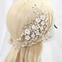 tanie Imprezowe nakrycia głowy-Stop Opaski na głowę z Kryształy / kryształy górskie 1 szt. Ślub / Specjalne okazje / Urodziny Winieta