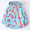 cheap Girls' Clothing Sets-Kids Girls' Print Long Sleeve Suit & Blazer