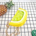 baratos Braceletes-Mulheres Bolsas PU Bolsa de Ombro Estampa Vermelho / Amarelo / Marron