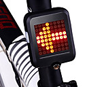 cheap Bells & Locks & Mirrors-Safety Light / Tail Light LED Cycling Waterproof, New Design, Lightweight Lithium Battery 80 lm Red Cycling / Bike