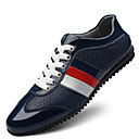cheap Men's Slip-ons & Loafers-Men's Cowhide Spring / Summer Comfort Sneakers Black / Blue