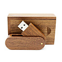 זול דיסק נייד USB-Ants 16GB דיסק און קי דיסק USB USB 2.0 עץ / במבוק מסתובב