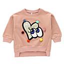 ieftine Băieți & Copil Hoodies & Bluze-Bebelus Băieți De Bază Mată Manșon Lung Hanorac / Copil