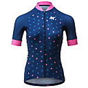 cheap Cycling Jersey & Shorts / Pants Sets-Mysenlan Women's Short Sleeve Cycling Jersey - Dark Blue Bike Jersey Polyester / Expert / Italy Imported Ink / Breathable Armpits