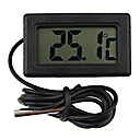 preiswerte Küchengeräte-Mini Digital Kühlschrank Thermometer schwarz LCD Display Kühlschrank Sonde