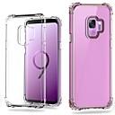 ieftine Cazuri telefon & Protectoare Ecran-Maska Pentru Samsung Galaxy S9 Plus / S9 Anti Șoc / Transparent Capac Spate Mată Greu PC pentru S9 / S9 Plus