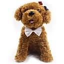 זול רצועות וקולרים לכלבים-כלבים / חתולים קשר עניבת פרפר / פפיון / קישוט אחיד / סרט פרפר בד אדום / כחול / ורוד
