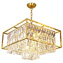 cheap Ceiling Lights-QIHengZhaoMing 9-Light Chandelier Ambient Light Brass Metal 110-120V / 220-240V Warm White Bulb Included