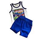 ieftine Pantaloni Băieți-Copil Băieți Mată Fără manșon Set Îmbrăcăminte