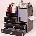 cheap Blush-Plastic Rectangle New Design Home Organization, 1pc Makeups Storage