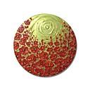levne Krajiny-Hang-malované olejomalba Ručně malované - Květinový / Botanický motiv Současný styl Moderní Obsahovat vnitřní rám / Reprodukce plátna