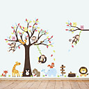 cheap Wall Stickers-Decorative Wall Stickers - Animal Wall Stickers Animals Living Room / Bedroom / Bathroom