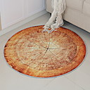 abordables Pelucas Sintéticas de Malla-Las alfombras de área Casual / Modern Poliéster, Circular Calidad superior Alfombra