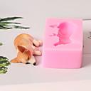 preiswerte Backformen-Backwerkzeuge Silikon 3D Zeichentrick / lieblich / Kreativ Kuchen / Für Kochutensilien / Für Kuchen Quadratisch Kuchenformen 1pc