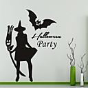 ieftine Acțibilde de Perete-Autocolante de Perete Decorative - Sărbători perete Abțibilduri Halloween Sufragerie / Dormitor / Baie
