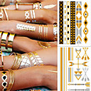 cheap Temporary Tattoos-5 pcs Tattoo Stickers Temporary Tattoos Bracelet Fashionable Design / Decoration Body Arts Arm / Ankle