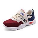cheap Girls' Shoes-Girls' Shoes Mesh / PU(Polyurethane) Spring & Summer Comfort Athletic Shoes Walking Shoes Magic Tape for Teenager Blue / Pink / Burgundy / Slogan