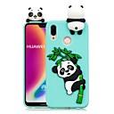 رخيصةأون حافظات الهواتف المحمولة-غطاء من أجل Huawei P20 Pro / P20 lite اصنع بنفسك غطاء خلفي باندا ناعم TPU إلى Huawei P20 / Huawei P20 Pro / Huawei P20 lite / P10 Lite / P10