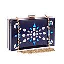 ieftine Genți De Seară & Plicuri-Pentru femei Genți Teracotă Geantă Seară Detalii Cristal Albastru piscină