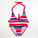 tanie Sukienki dla dziewczynek-Brzdąc Dla dziewczynek Plaża Prążki Odzież kąpielowa