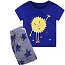 povoljno Majice za dječake-Dijete koje je tek prohodalo Dječaci Jednobojni Kratkih rukava Komplet odjeće