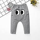 ieftine Pantaloni Bebeluși-Bebelus Fete Activ / De Bază Ieșire Mată / Imprimeu Imprimeu Bumbac Pantaloni / Copil